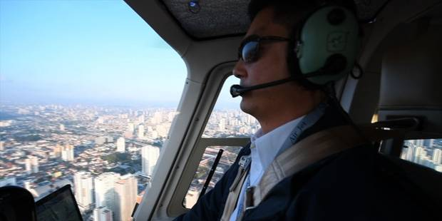 L'Uber des hélicoptères arrive à Sao Paulo (VIDEO) - La DH