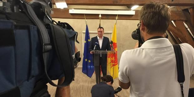 Maxime Prévot: ses adieux au gouvernement wallon - La DH