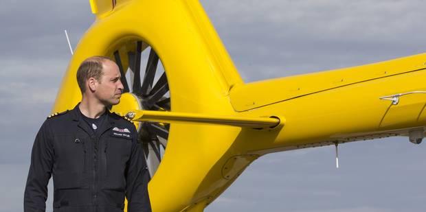 Pour le prince William, c'est fini l'hélicoptère - La DH