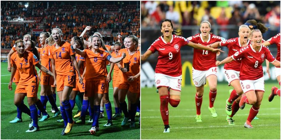 Danemark-Pays-Bas en finale — Euro