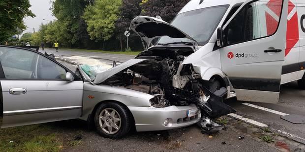 Lessines: Une personne gravement blessée après un accident de la route - La DH