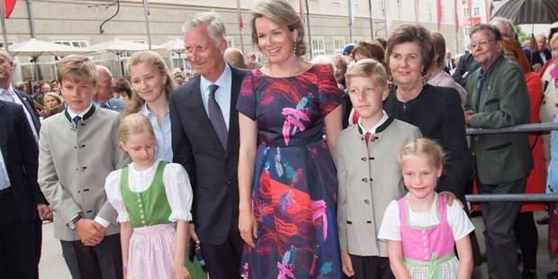 La reine Mathilde, le roi, et les enfants en escapade musicale à Salzbourg - La DH