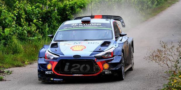 WRC Allemagne: Tanak chante sous la pluie, Neuville remonte 3ème devant Ogier - La DH