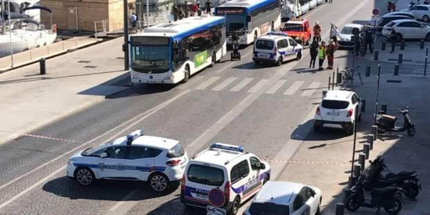 Un homme soigné en psychiatrie fonce sur des piétons à Marseille, un mort - La DH