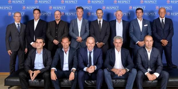 Les plus grands entraîneurs de la planète foot se réunissaient ce mercredi... mais pourquoi ? - La DH
