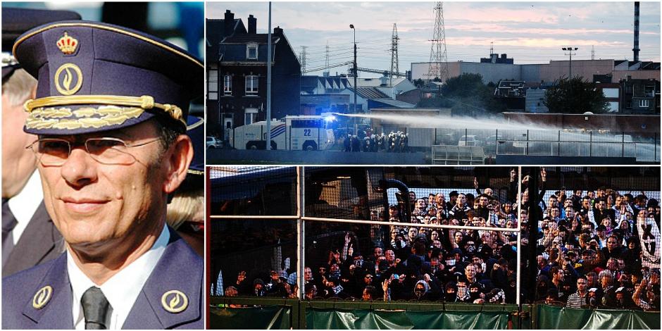 """Le coup de gueule du chef de la police de Liège après Standard-Charleroi: """"J'en ai marre !"""" - La DH"""