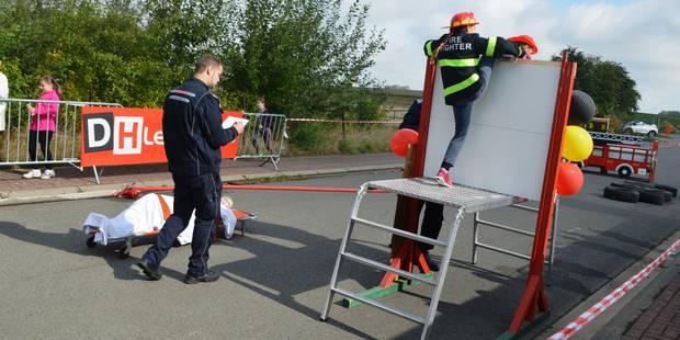 Basècles : les pompiers en démonstration - La DH