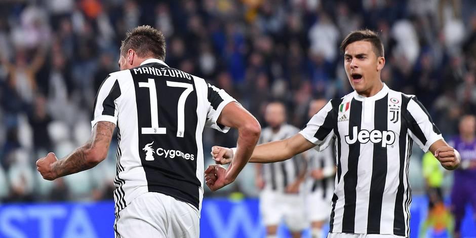 La Juve domine la Viola, Naples renverse la Lazio — Serie A