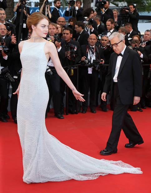 Avec une Emma Stone sculpturale au festival de Cannes