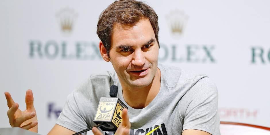Roger Federer qualifié sans difficulté pour les quarts à Shanghai