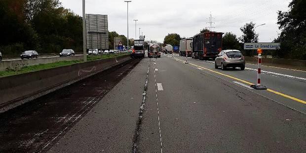 Mons-Obourg : Le chantier sur la E19 se terminera fin novembre - La DH