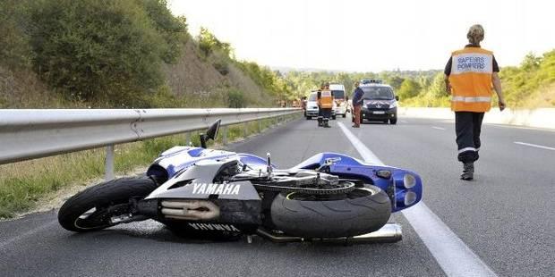 Chaudfontaine : un motard en danger de mort après un accident - La DH