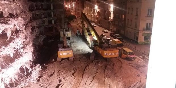 Bruxelles-Ville: Les travaux de nuit resteront une exception - La DH