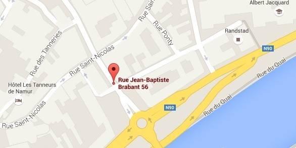 Attention: déviation dans le centre de Namur ce lundi matin - La DH