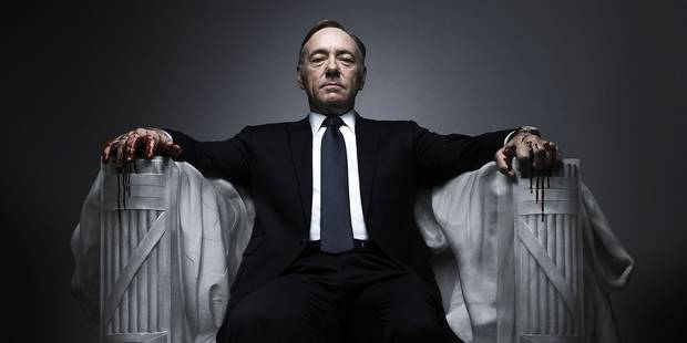 Netflix met un terme à la série House of Cards après les accusations de harcèlement contre Kevin Spacey - La DH