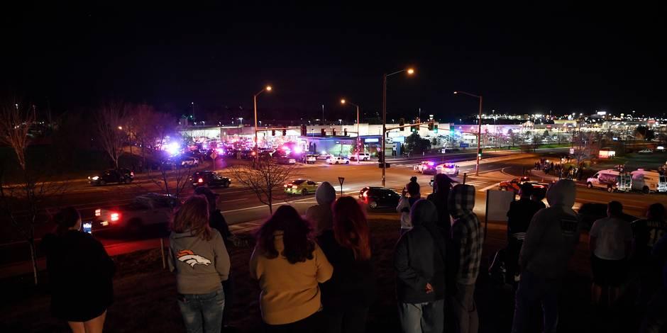 Trois morts dans une fusillade dans un supermarché du Colorado — États-Unis
