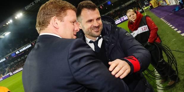"""Vanhaezebrouck: """"Une seule équipe méritait de gagner"""" - La DH"""