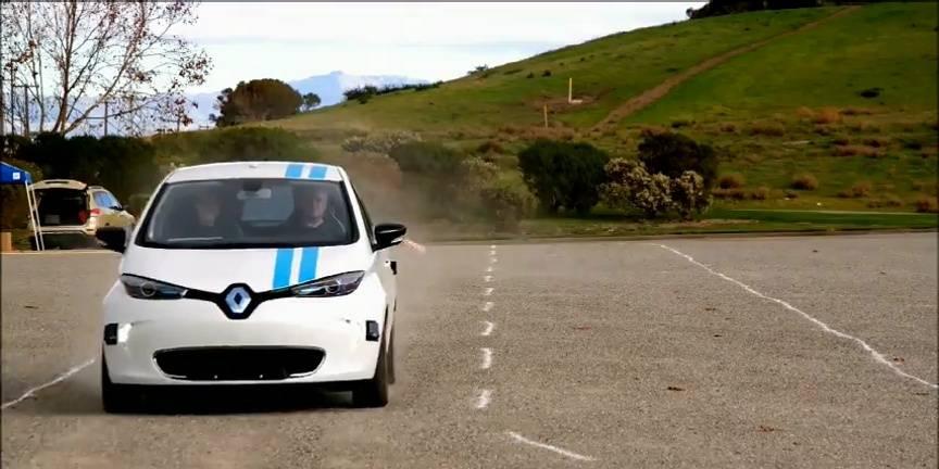 Renault dévoile un système autonome d'évitement