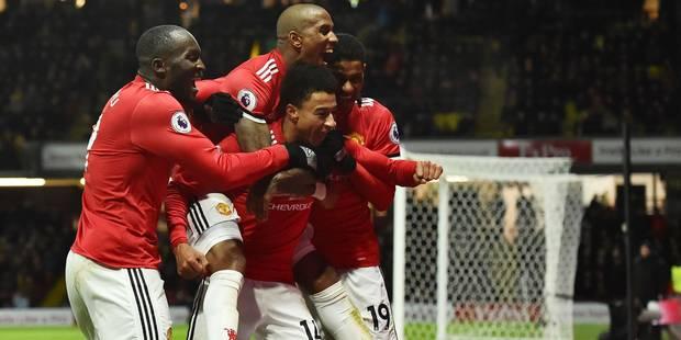 Les Belges à l'étranger: Manchester United et Lukaku s'imposent face à Kabasele, Dembélé et Vertonghen battus à Leiceste...