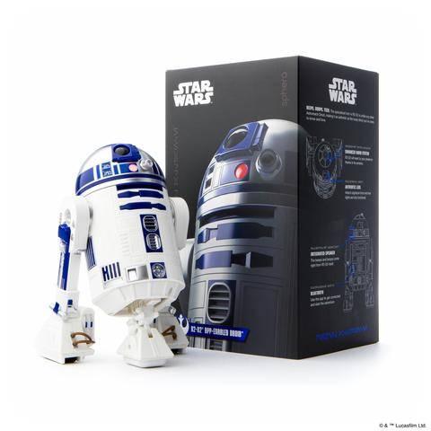 Ce modèle réduit de R2-D2 peut être piloté via smartphone.             Sphero. 129,99 dollars