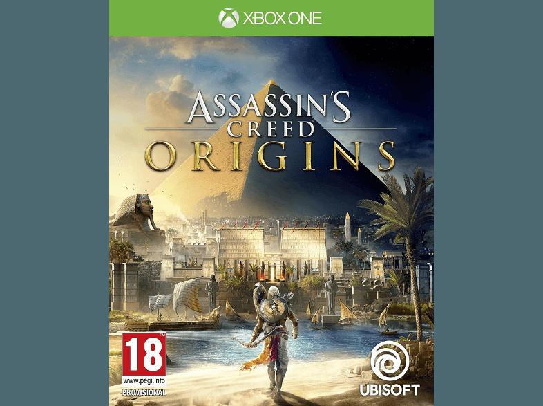 Assassin's Creed Origins transporte le joueur à l'époque de Cléopâtre et de Jules César. Ubisoft propose un monde ouvert à couper le souffle.            Media Markt. 59,99 euros.
