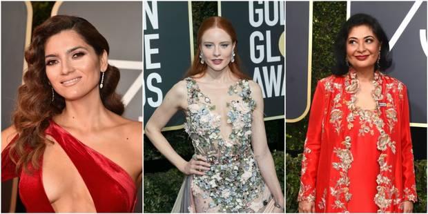 Ces trois femmes étaient les seules à ne pas porter de noir aux Golden Globes - La DH