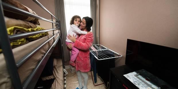 Molenbeek: une famille avec quatre enfants vit dans un 45 m2 - La DH