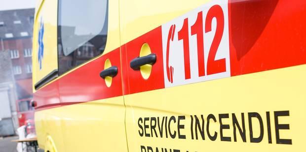Important incendie de câbles électriques sur un chantier à Ixelles - La DH