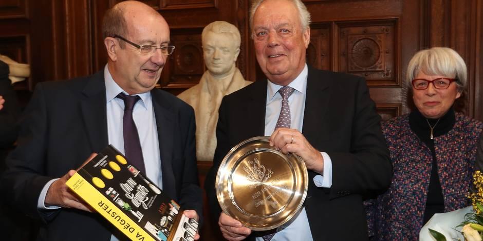 Roger Van den Stock et Jeannine Burny faits citoyens d'honneur — Anderlecht