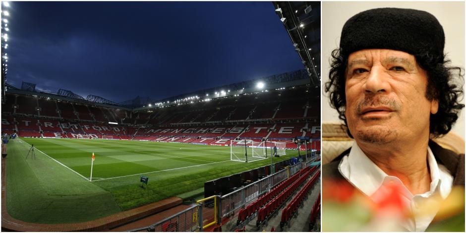Kadhafi a failli racheter Manchester United