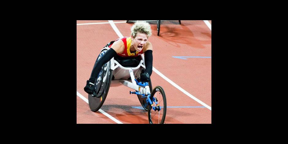 Handisports: Marieke Vervoort bat le record du monde du 400m
