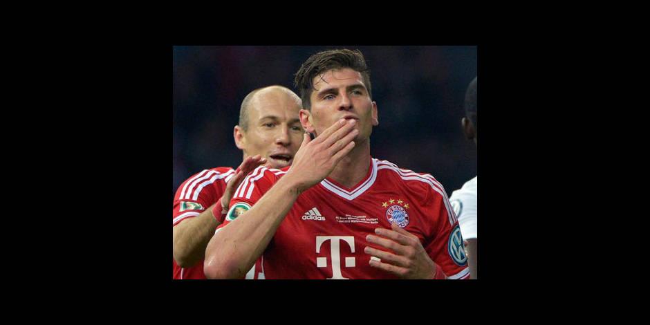 Le Bayern voit triple