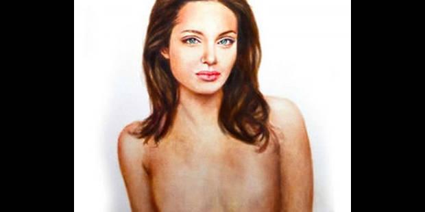 Un portrait d'Angelina Jolie sans ses seins - La DH