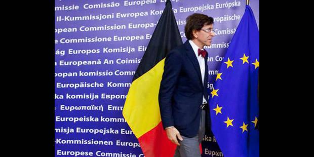 La Représentation permanente de la Belgique auprès de l'UE est à sec - La DH