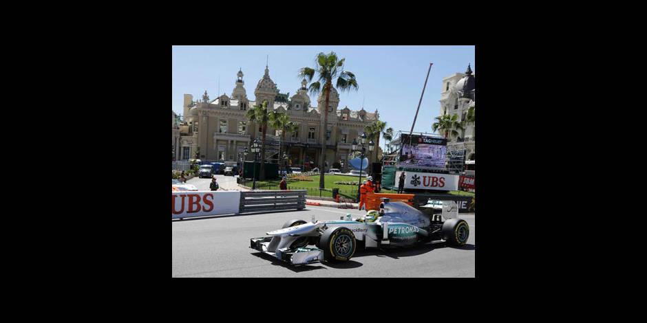 GP de Monaco: Nico Rosberg en pole position