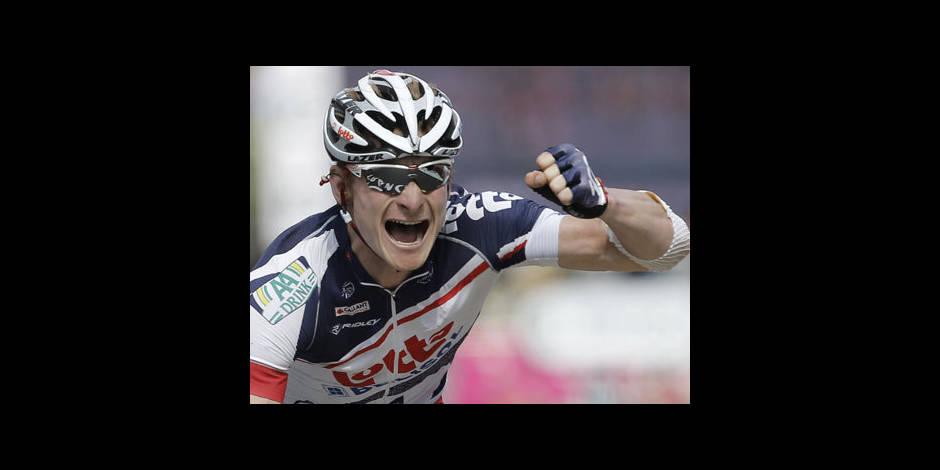Andre Greipel s'adjuge la 1e étape du Tour de Belgique