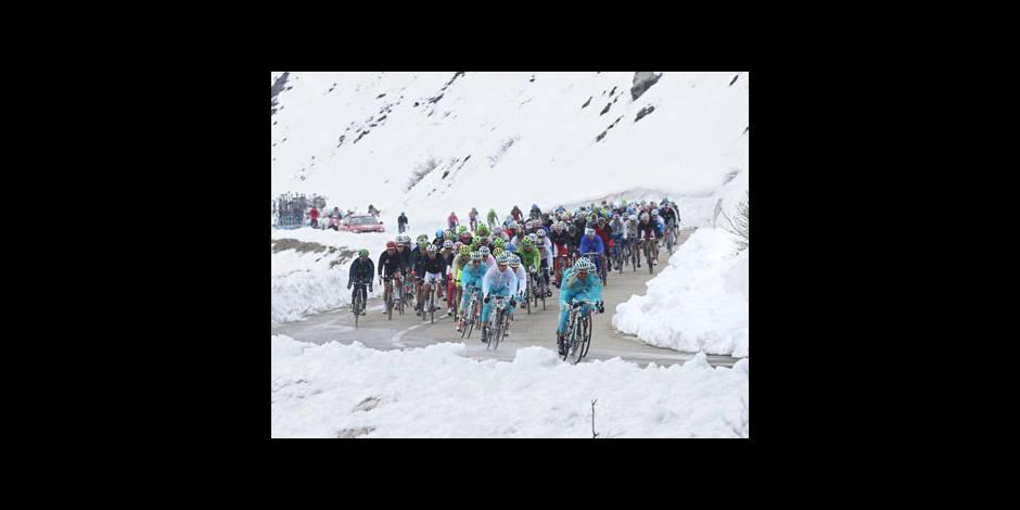Le Giro menacé par le mauvais temps ?