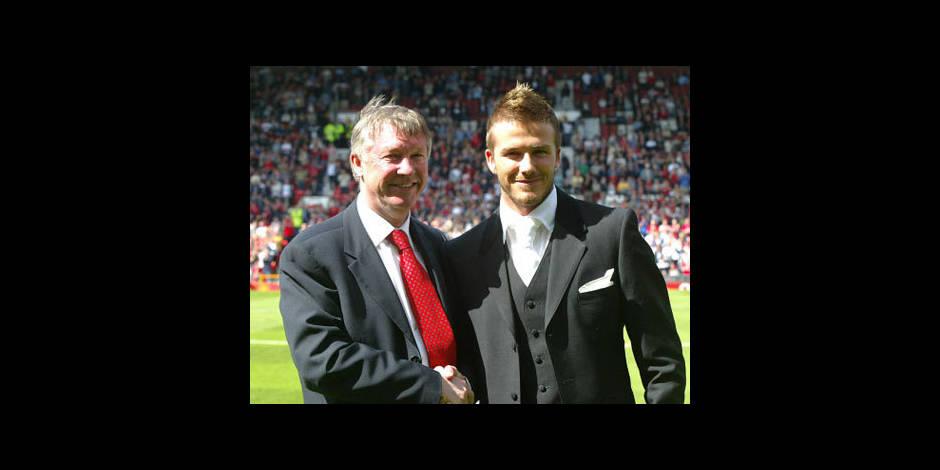 """Beckham salue Ferguson, """"le plus grand entraîneur et une figure paternelle"""""""