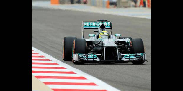 Rosberg fait la pole à Bahrein - La DH