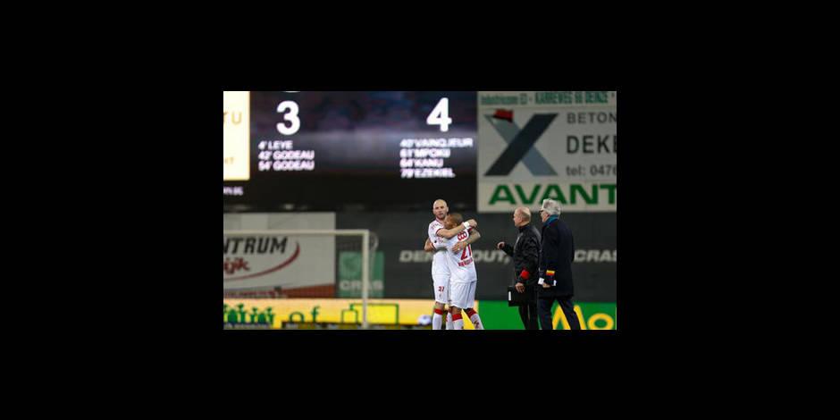 Le Standard s'impose au bout du suspens (3-4)