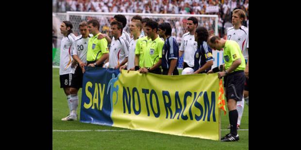 10 matches de suspension en cas d'injures racistes - La DH
