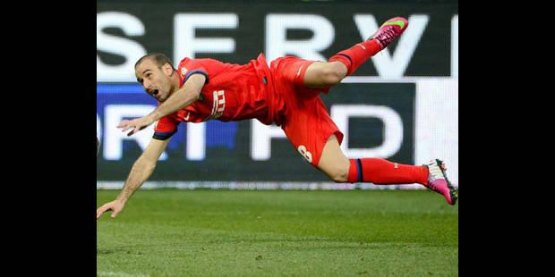 Palacio, l'atout offensif de l'Inter Milan, blessé à l'entraînement - La DH