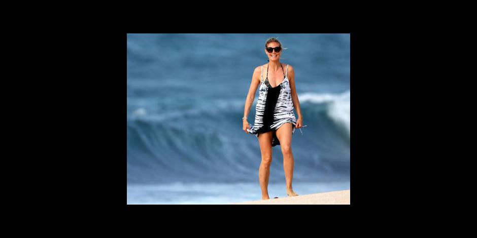Heidi Klum : elle sauve son enfant de la noyade