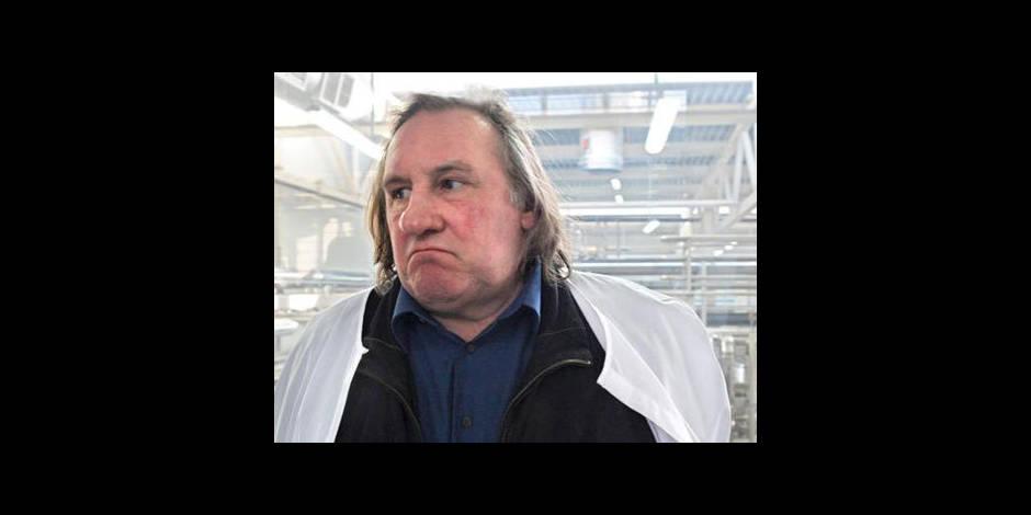 Depardieu devant la barre pour ivresse au volant