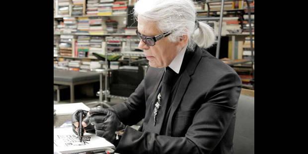 Karl Lagerfeld : le plastique c'est fantastique - La DH