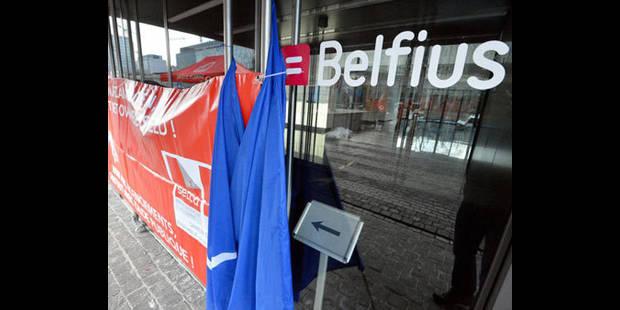 Le siège central de Belfius en grève jeudi