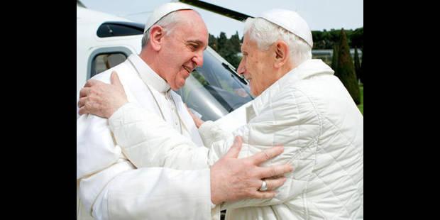 Deux papes, une image dans l'Histoire