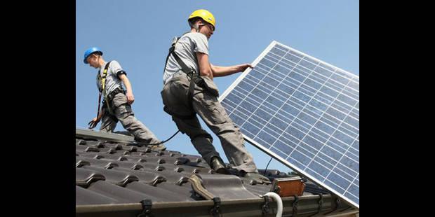 Photovoltaïque: le certificat vert garanti à 65 euros jusqu'au remboursement de l'installation - La DH