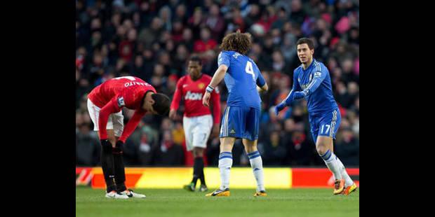 Hazard et Chelsea poussent ManU au replay (2-2) - La DH