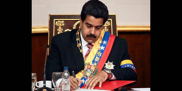 Nicolas Maduro a prêté serment comme président par intérim - La DH